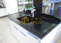 Slab Black epoxy resin laboratory countertops corrosion resistance for university