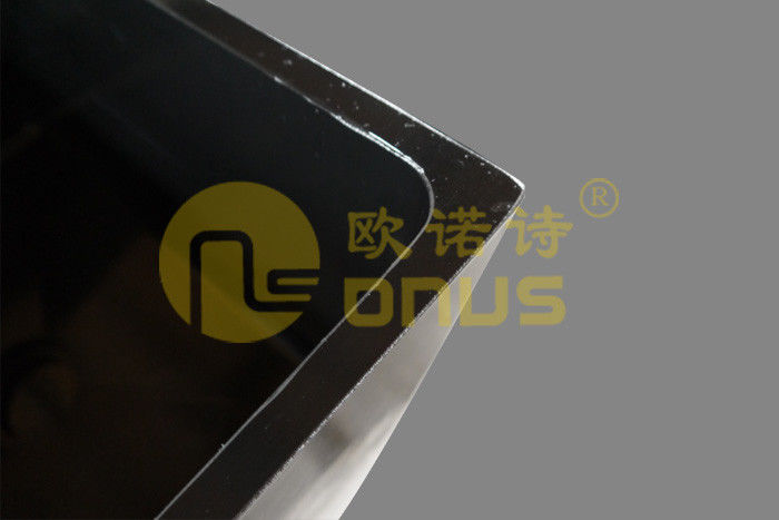 Chemical resistance epoxy undermount sink black color for food company