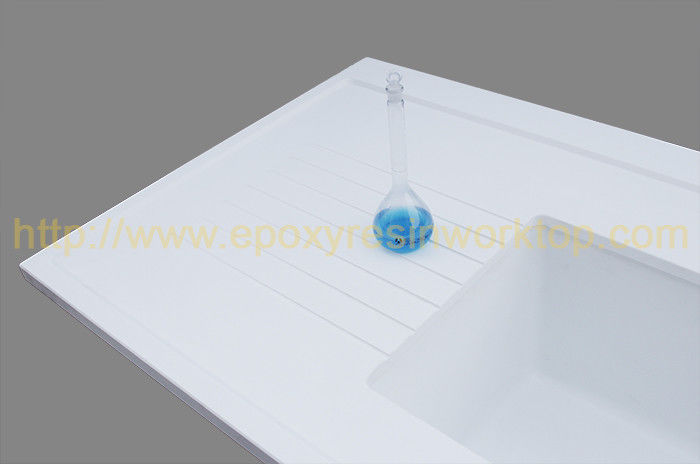 Corrosion resistance epoxy resin countertop matte surface / chemical resistant table tops