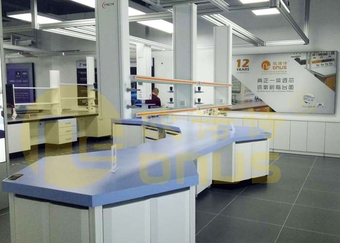 Anti Fouling Laboratory Worktops Epoxy Resin For Science Research Construction